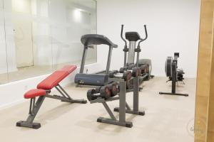 The fitness center and/or fitness facilities at Ceuta 44