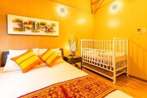 Un ou plusieurs lits dans un hébergement de l'établissement SESOCO MODERN 01