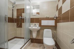 Kúpeľňa v ubytovaní Amos Apartment