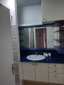 A bathroom at Little home Tahiti