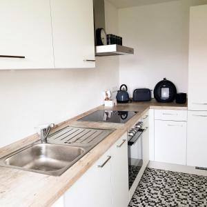 Küche/Küchenzeile in der Unterkunft Ferien in Neuffen - Ferienwohnung Plaue