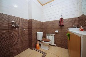 Kúpeľňa v ubytovaní Kafarov