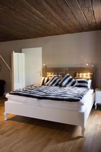 Ein Bett oder Betten in einem Zimmer der Unterkunft Judengasse