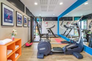 Palestra o centro fitness di Appart'City Confort Grenoble Inovallée
