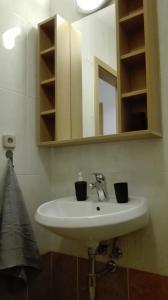 Kúpeľňa v ubytovaní Apartmán NELA Tatran Donovaly