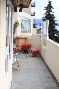 Un balcón o terraza en Departamento Costanera