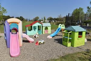Children's play area at Villa Isabella