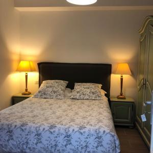 Un ou plusieurs lits dans un hébergement de l'établissement Bordeaux Village Blaye
