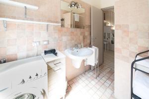 A bathroom at Casa Amabile
