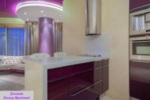 Kylpyhuone majoituspaikassa Tornimäe Luxury Apartment