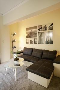 A seating area at apartment in patras