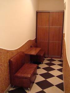 A seating area at Apartment on Prospekt Shevchenka
