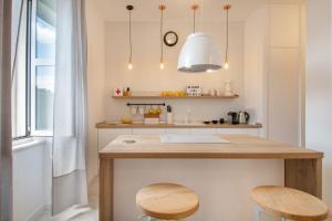 Küche/Küchenzeile in der Unterkunft Oh!Split Apartment