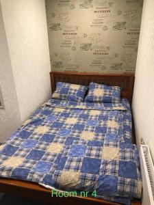 Voodi või voodid majutusasutuse Liivalaia 40 cozy kitchen studio toas