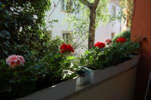 A balcony or terrace at Buda Castle Apartments