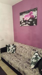 A seating area at Apartmani Orloj