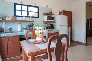 مطبخ أو مطبخ صغير في Righetto Vacation Rentals