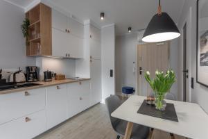 A kitchen or kitchenette at Apartament CLIF