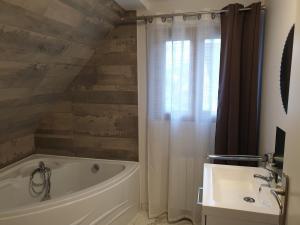 Salle de bains dans l'établissement LOFT Tabor