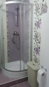 A bathroom at Głogów przy Morcinka