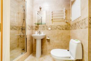 A bathroom at Квартира Одинцово