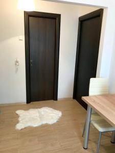 Kama o mga kama sa kuwarto sa Apartament Anastasia