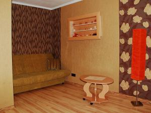 Atpūtas zona naktsmītnē Ventspils Inženieru 99 Apartment