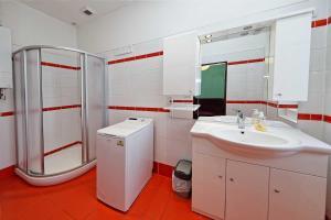 A bathroom at Residence Jagellonska