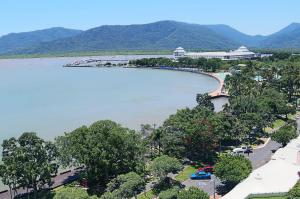 A bird's-eye view of Cairns Aquarius