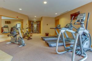 The fitness center and/or fitness facilities at 2 Bed 2 Bath Apartment in Copper Mountain