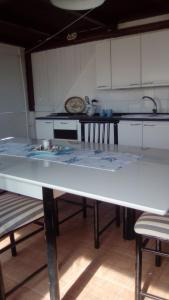 A kitchen or kitchenette at Il Corallo