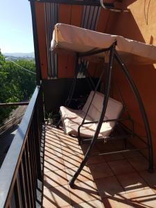 Balkonas arba terasa apgyvendinimo įstaigoje House In Avlabari