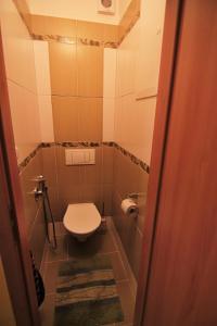 A bathroom at Vimperk - Šumava