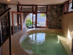 The swimming pool at or near Roubeti Village