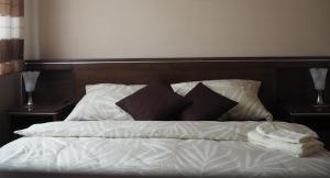 Posteľ alebo postele v izbe v ubytovaní Apartment Palarikova