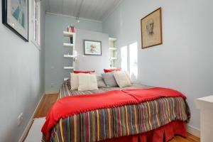 Cama o camas de una habitación en Chanceler Apartments