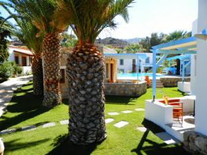 A garden outside Patmos Garden