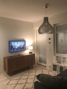 TV tai viihdekeskus majoituspaikassa PikkuParlamentti