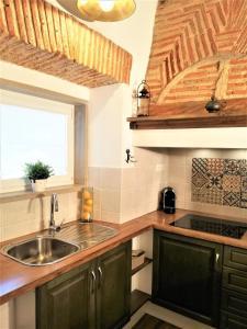 A cozinha ou kitchenette de Cafofos da Zeta