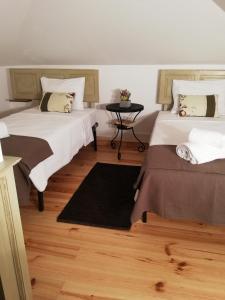 Uma cama ou camas num quarto em Cafofos da Zeta