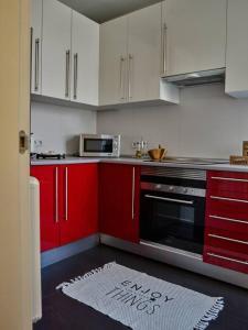 Küche/Küchenzeile in der Unterkunft DUPLEX MUY LUMINOSO CON VISTAS A LA PUERTA DE ALCALÁ