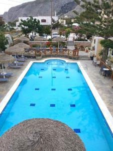 The swimming pool at or near Ira Apartments & Studios Kamari