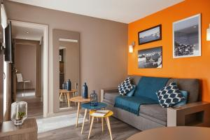 Гостиная зона в Aparthotel Adagio Marseille Vieux Port