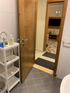 A bathroom at Altelal Apartment