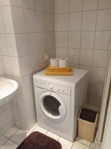Ein Badezimmer in der Unterkunft Apartment im SI Centrum