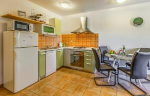 A kitchen or kitchenette at Olga's Place-new apartment 200 mt from the Sea