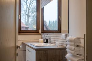 A bathroom at Amberton Villas