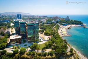 Een luchtfoto van Apartments v ZK Zolotaya Buhta