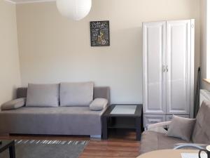 Posezení v ubytování Apartament Pod Śnieżką