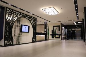 The lobby or reception area at Ramz Al Fakhamah